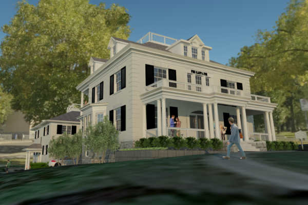 Artist Rendering of the front of the House 2.0